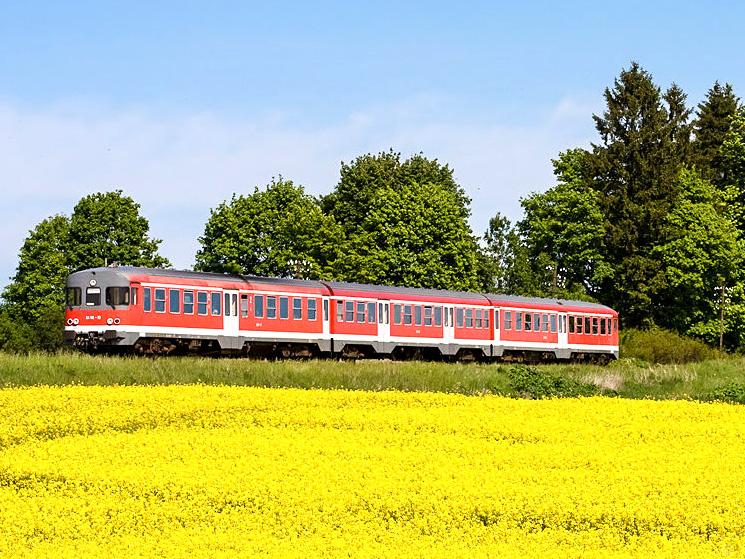 Train in Poland