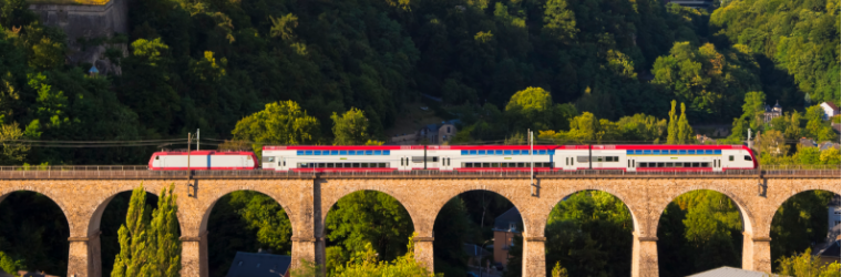 Trains in Luxembourg