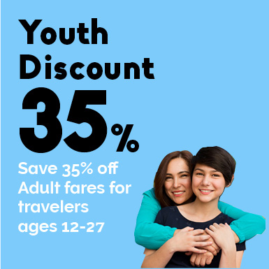 Eurail Youth Discount