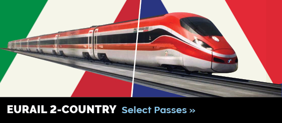 Eurail 2-Country Select Pass