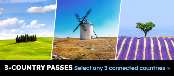 Eurail 3-Country Pass