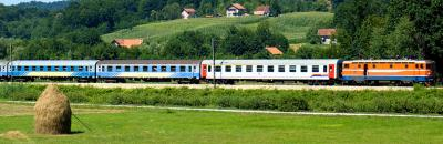 Trains in Bosnia