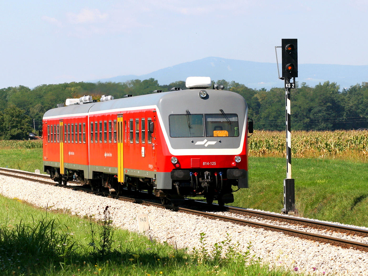 Train in Slovenia
