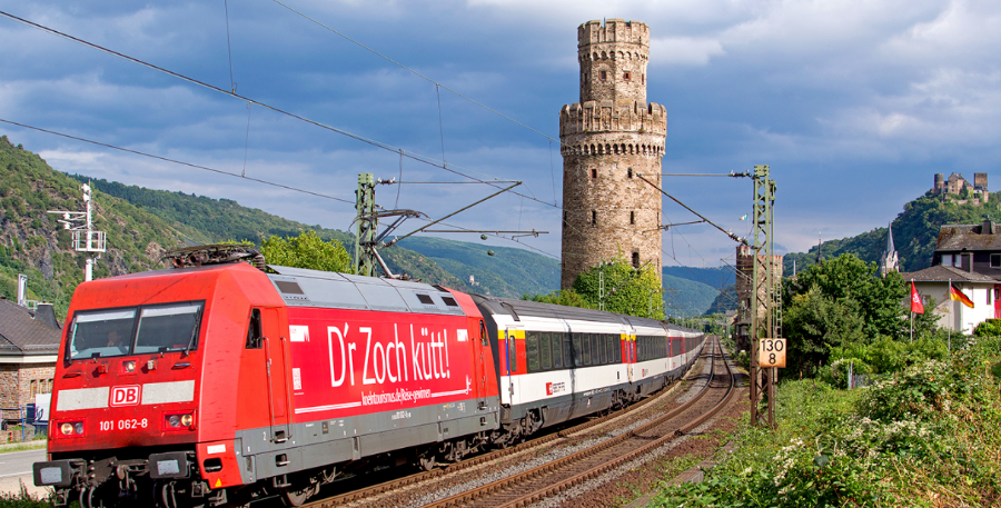 Trains in Germany