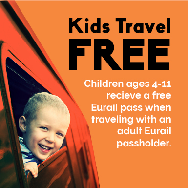 Eurail Kids Travel Free