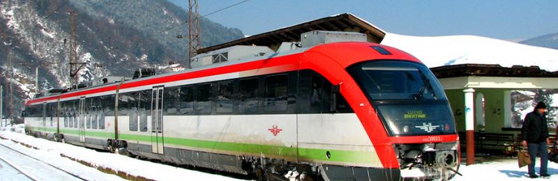 Trains in Bulgaria